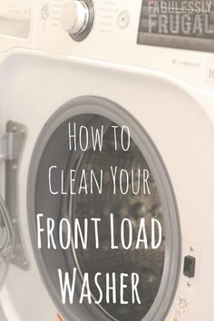 Clean your Front Load Washer Quick! Over the last few months there has been a funky smell lurking in the laundry room and no matter how quickly I switched the laundry from the washer to the dryer, it wouldn't go away. I am diligent about letting it air out after a load, and then running it… Read More