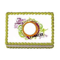 Dancer Edible Image Cake Cupcake Topper by CakesPopsCupcakes, $7.95