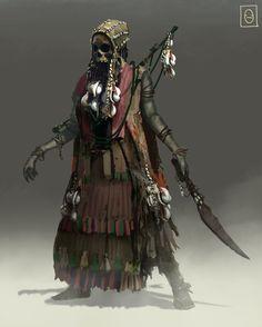 ArtStation - Pirate Skeleton Witch 2, Ken Fairclough