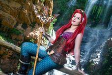Steampunk Ariel (disney own design)  Cosplayer: Michiko Cosplay  Photographer: GiantShev Photography