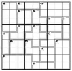 20 Best Killer Sudoku Challenges? images in 2016 | Challenges