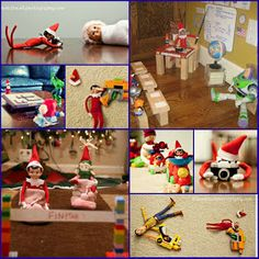 Yvonne Byatt's Family Fun: ELF ON THE SHELF IDEAS