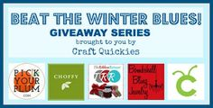 Beat the Winter Blues Giveaway Series on Craft Quickies Week 5: Win a Cricut Mini!