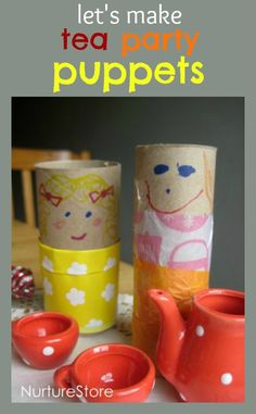 Super easy, quick and creative idea for a kids craft that's fun to make and even better to play with!