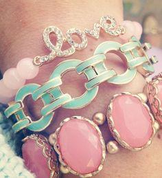Coral + Mint ♥ L.O.V.E.