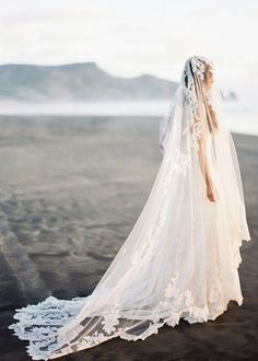 angelic bridal look
