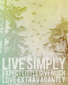 Simplify, simplify!