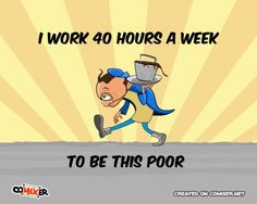Hard Working funny quote