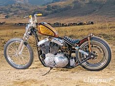 1969 Triumph Tiger And 2001 Harley-Davidson Sportster Sport - Double Down | Street Chopper