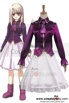 Fate/stay night Illyasviel von Einzbern Unform Outfit Cosplay Costume