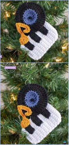 Crochet Bing Crosby Ornament Free Pattern - Crochet Christmas Ornament Free Patterns