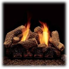 Ventless Gas Fireplace Logs for a Great Fire - Home