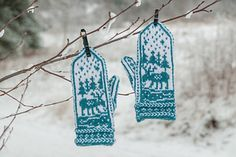 Ravelry: Moose on the Loose pattern by DROPS design Knit Mittens, Drops Design, Moose, 30th, Ravelry, Knitting, Pattern, Tricot, Breien