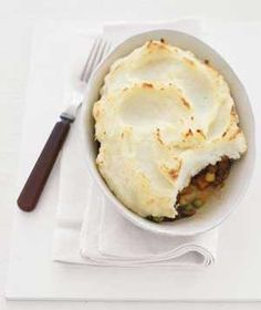 Easy Shepherd's Pie - not quite healthy but I thought I'd pin it anyway since I know DH would like it.