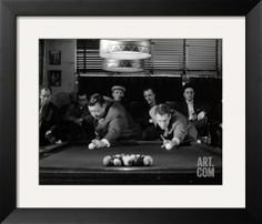 Paul Newman, The Hustler (1961) Stretched Canvas Print at Art.com purchased