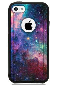 iPhone 5c Case Black Galaxy Nebula