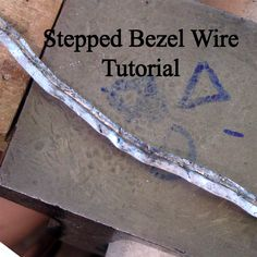 This tutorial shows you how to make stepped bezel wire out of a bezel strip and a piece of wire. Its a fairly simple technique and that will allow you to create stepped bezels for any stone size. (You have to sign up with this site and confirm your email, but the tutorial is a free pdf download and you can opt out of newsletters, etc.)  *Awesome