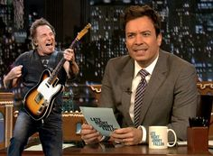 #Springsteen Week: Fallon (Traditional) launches Springsteen Week, Live Tweeting commences (Social), blogs pick it up (Hybrid) and Fallon brings the viewer to his (Owned) online channels to complete the circle. Image via Gothamist
