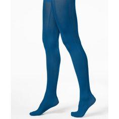 Blue fishnet pantyhose