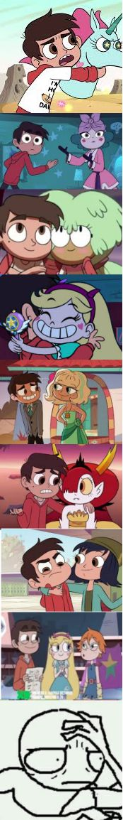 Marco needs to stop and just choose one! *Cough* Star *Cough*