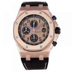 Audemars Piguet Royal Oak Offshore Rose Gold Chronograph Watch 26470OR.OO.A002CR.01