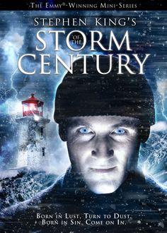 Stephen King's Storm of the Century / Stephen Kings Sturm des Jahrhunderts Sci Fi Horror Movies, Horror Movie Posters, Scary Movies, Great Movies To Watch, Good Movies, Stephen King Film, Stephen Kings, Kings Movie, Movie Covers