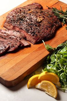 Peppery Flank Steak