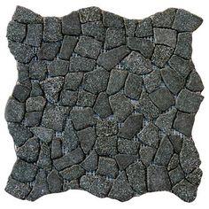 Flat Charcoal Tumbled
