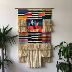 The incredibly talented Brooklyn based weaver is visiting Byron Bay this weekend to hold workshops with ! Check out their IG for details. We'll be there weaving away the weekend. Weaving Textiles, Weaving Art, Tapestry Weaving, Loom Weaving, Hand Weaving, Weaving Wall Hanging, Wall Hangings, Textile Fiber Art, Creation Couture