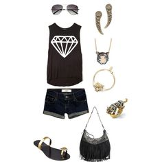 """""""cute out fit"""" by loveislikearose18 on Polyvore"""