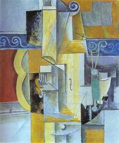 versushipster: Picasso, Violin and Guitar (1913)