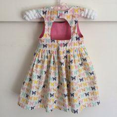 Cut-out back - Tadah Tea Party dress by Monika