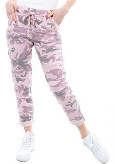 Παντελόνι φόρμαςMiss Pinky με λεπτομέρειες πούλιες. Στα πλάγια έχει τσέπες με λεπτομέρειες που έχουν πούλιες.
