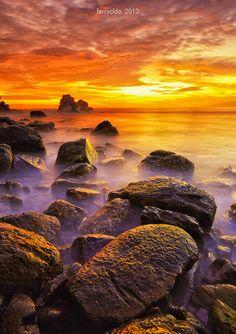 cc103afe891cc4 Golden Rock - Jayapura - Indonesia Paysage, Magnifiques Couchers De Soleil,  Nature Exceptionnelle,