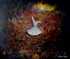 """Saatchi Art is pleased to offer the painting, """"whirling Dervish,"""" by Khusro Subzwari. Original Painting: Acrylic on N/A. Size is 0 H x 0 W x 0 in. Whirling Dervish, Art For Sale, Art Boards, Find Art, Saatchi Art, Original Paintings, My Arts, Sculpture, Art Prints"""