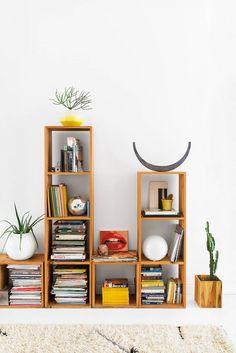 add art to your bookshelves
