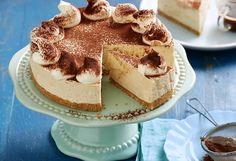 This no-bake cheesecake recipe will be a favourite amongst coffee lovers. With a coffee-infused cream cheese filling and an almond biscotti base, it's heavenly!