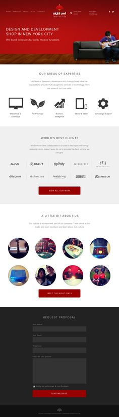 Night Owl Interactive Website Design http://nightowlinteractive.com/
