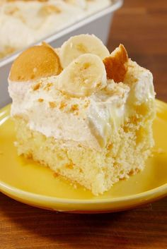 Banana Pudding Poke Cake Is Everything We Want In This Apes*it World