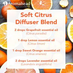 Essential Oil Diffuser Blend for Energy