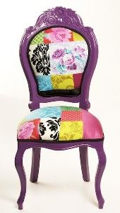 suprisingly lurve the purple! patchwork chair
