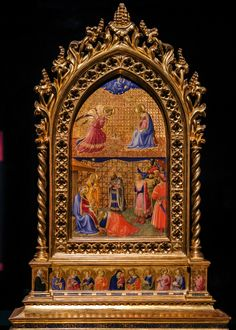 Fra Angelico, The Annunciation and the Adoration of the Magi, c Italian Renaissance, Renaissance Art, Gardner Museum, Fra Angelico, Italian Painters, Medieval Art, Sacred Art, Christian Art, Pet Portraits