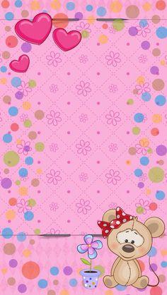 Summer Wallpaper, Nursery Wallpaper, Heart Wallpaper, Animal Wallpaper, Wallpaper Iphone Cute, Love Wallpaper, Cellphone Wallpaper, Colorful Wallpaper, Wallpaper Backgrounds
