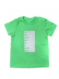 Boys' Green My Life Story Tee by Good hYOUman - ShopKitson.com