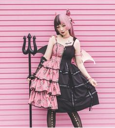 Flower Banquet~lolita Jumper - - Straight Hairstyles for You 2019 Straight Hairstyles ideas for Women and Men Best Trend Straight Hairstyles Ideas for you. Estilo Lolita, Lolita Goth, Gothic Lolita Dress, Gothic Lolita Fashion, Lolita Style, Nu Goth, Tokyo Street Fashion, Japanese Street Fashion, Japanese Kawaii Fashion