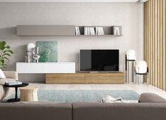Modern Apartment Design, Tv Unit, Dining Room Design, Modern Furniture, New Homes, Living Room, David, Modern Dining Rooms, Flats