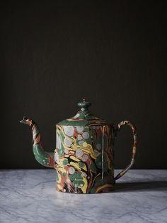 Object of Desire: Marble Teapot from Astier de Villatte - Remodelista