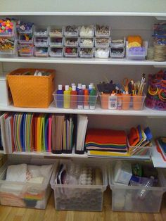 organizacion de clase (25. Craft OrganizationCraft StoragePlayroom OrganisationKids ... & Solutions to Organize Kids Art Supplies | Pinterest | Organize kids ...