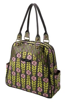 Sashay Satchel - Rambling Rose  My new diaper bag... I love that I can wear it as a backpack or handbag.