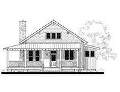 Allison Ramsey Architects | Floorplan for Whisper Creek (variation ...